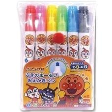 <トイザらス> アンパンマン さきのまーるいおえかきペン