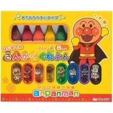 <トイザらス> アンパンマン はじめてのさんかくくれよん(8色)