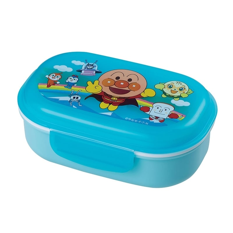 アンパンマン フォーク付きランチBOX(270ml )ブルー