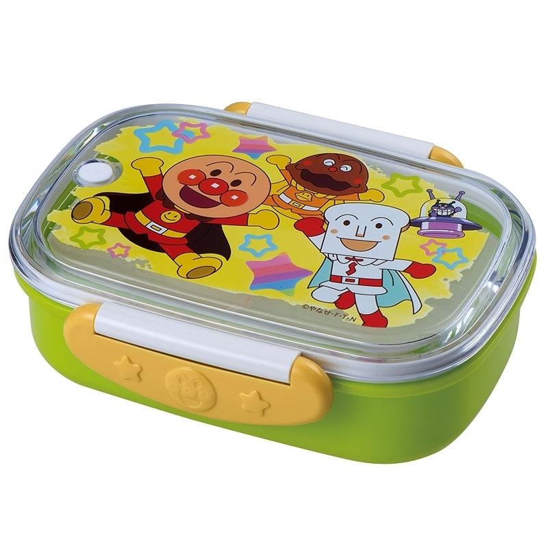 アンパンマン ロック式おべんとう箱(360ml)グリーン