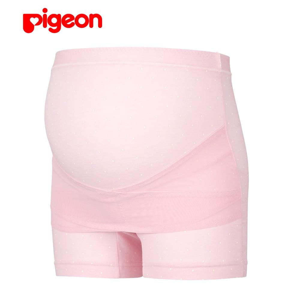 ピジョン 骨盤サポート 妊婦帯パンツ(ピンクxL)