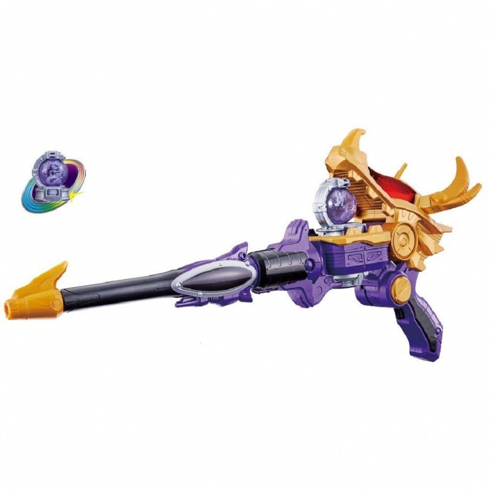 【クリアランス】宇宙戦隊キュウレンジャー ガブガブ変身銃 DXリュウツエーダー