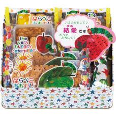 <トイザらス> はらぺこあおむし 缶入り お菓子アソート HA-30N(女の子)【オンライン限定】【名入れ可】