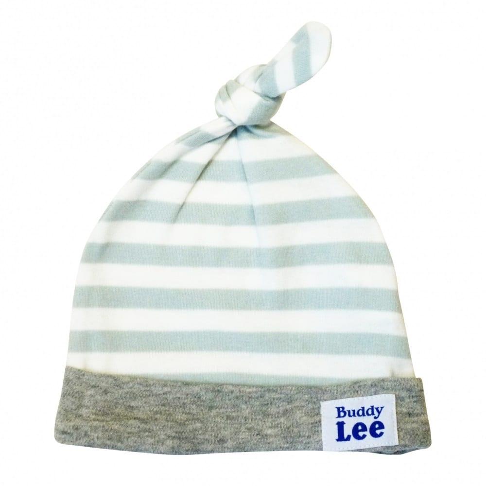 トイザらス・ベビーザらス オンラインストアベビーザらス限定 Buddy Lee 新生児帽子 ボーダー(グレー)