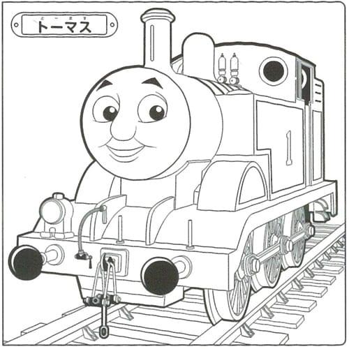 デッカぬりえ 機関車トーマス トイザらス