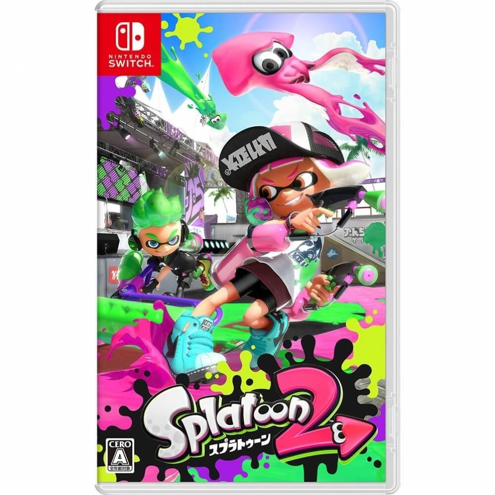 【Nintendo Switchソフト】Splatoon2(スプラトゥーン2)【送料無料】