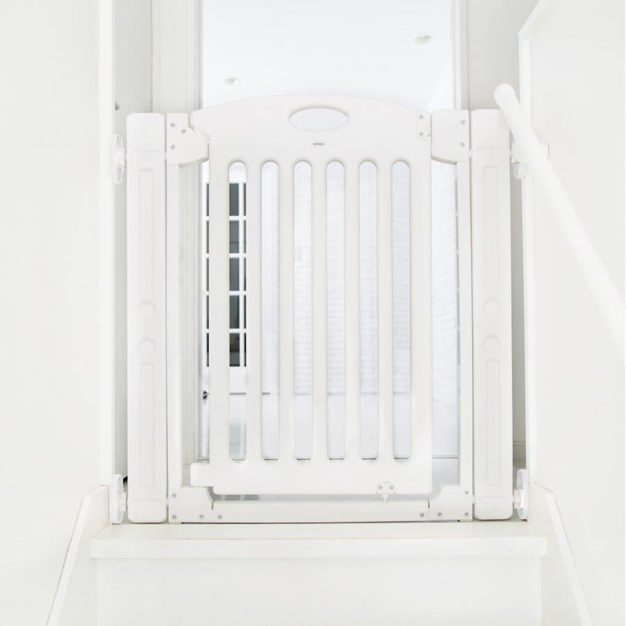 階段上で使えるゲート (ホワイト) 【オンライン限定】【送料無料】