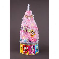 【クリックで詳細表示】【クリスマスツリー】トイザらス限定 ディズニー クリスマスセットツリー120cm ホワイト
