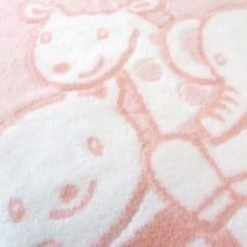衿クリジャガード綿毛布 フレンズ 日本製