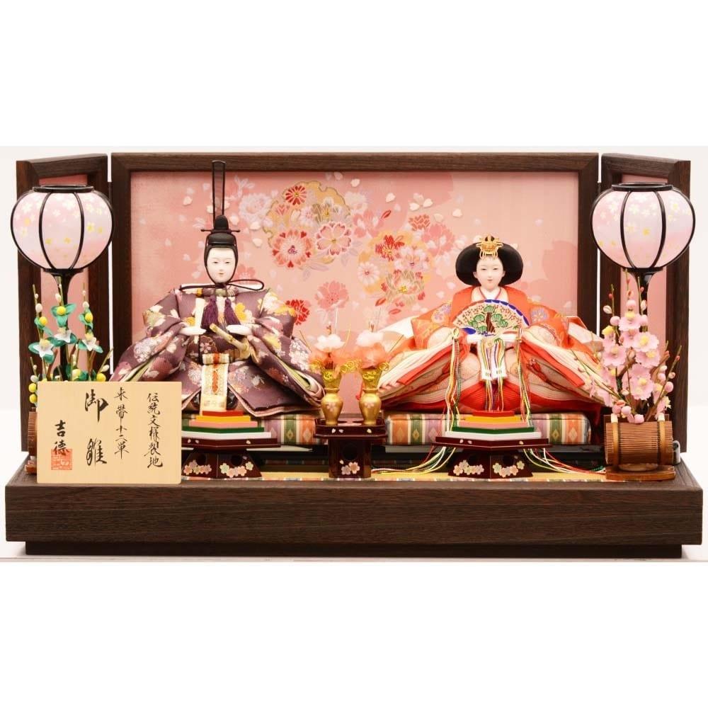【雛人形】ベビーザらス限定 親王飾り「春歌雪輪桜焼桐」【送料無料】