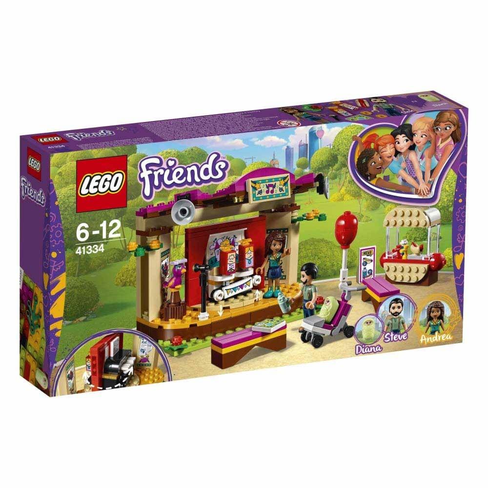 レゴ フレンズ 41334 アンドレアのくるくるステージショー【送料無料】