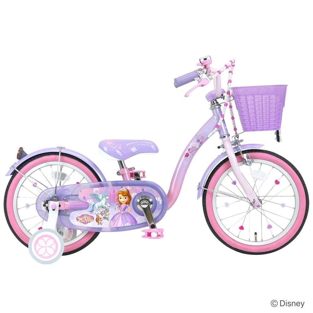 18インチ 子供用自転車 ちいさなプリンセスソフィア&スカイ
