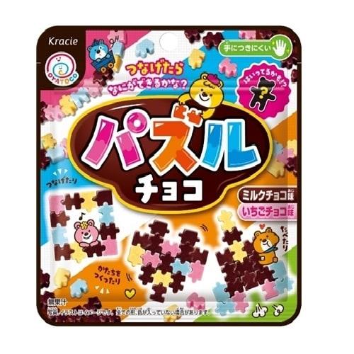 カラフルパズルチョコ チョコ味+いちごチョコ味 23g【お菓子】