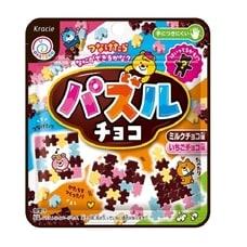 <トイザらス> カラフルパズルチョコ チョコ味+いちごチョコ味 23g【お菓子】