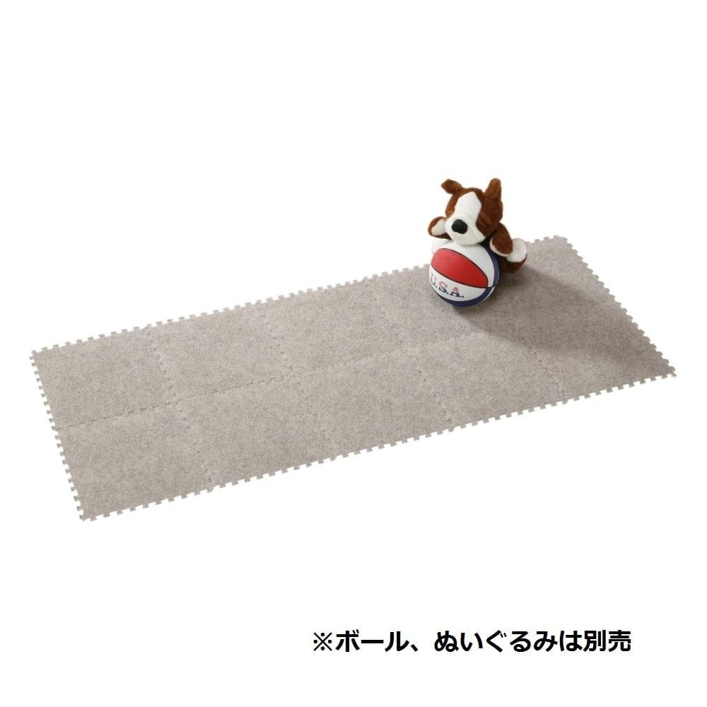 システムカーペット 10枚組 グレー