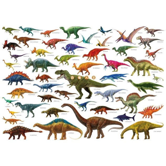 恐竜大全 A1ポスター | トイザらス
