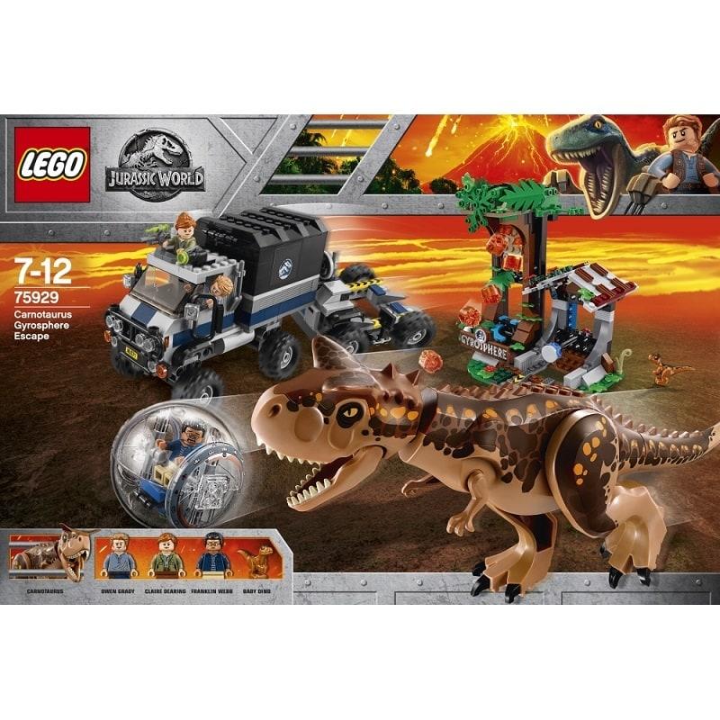 レゴ ジュラシック・ワールド 75929 カルノタウルス対ジャイロスフィア