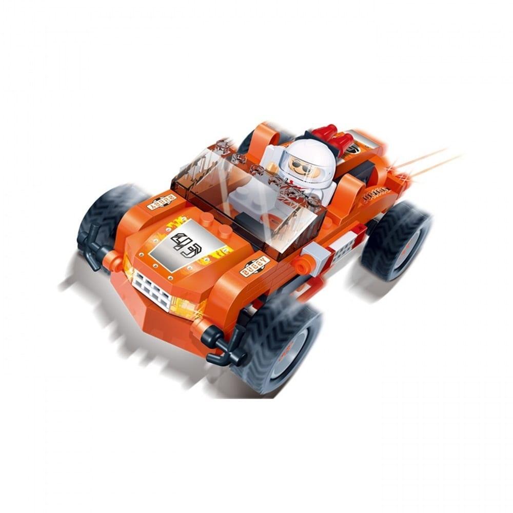 レーシングカー (オレンジ)