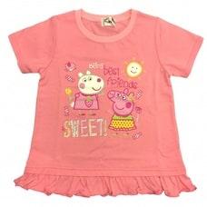 【クリックで詳細表示】ベビーザらス限定 ペッパピッグ 半袖Tシャツ(ピンク×100cm)