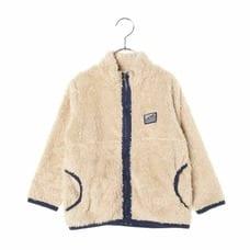 【クリックで詳細表示】【PICNIC】ボアフリース ジャケット(ミディアムベージュ×100cm)