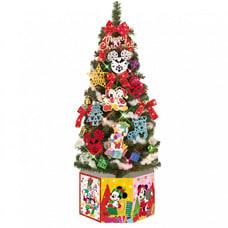 【クリックで詳細表示】【クリスマスツリー】トイザらス限定 ディズニークリスマス ミッキー&フレンズ セットツリー 120cm