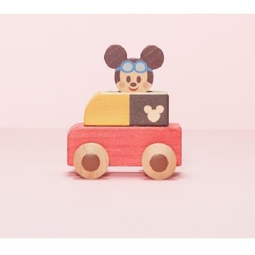 KIDEA PUSH CAR(キディア プッシュカー) ミッキーマウス【クリアランス】【送料無料】