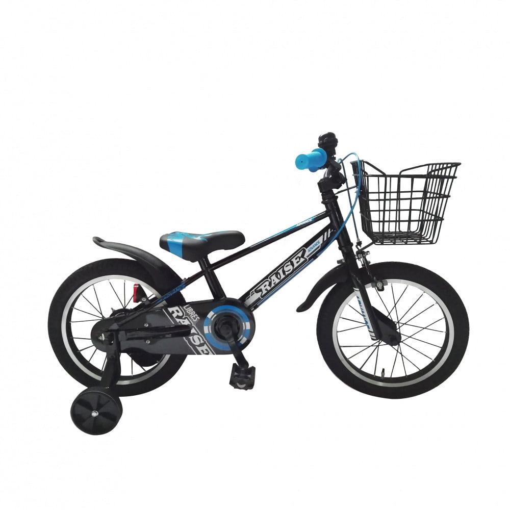 トイザらス・ベビーザらス オンラインストアトイザらス限定 16インチ 子供用自転車 RAISE リブレス ブラック/ブルー