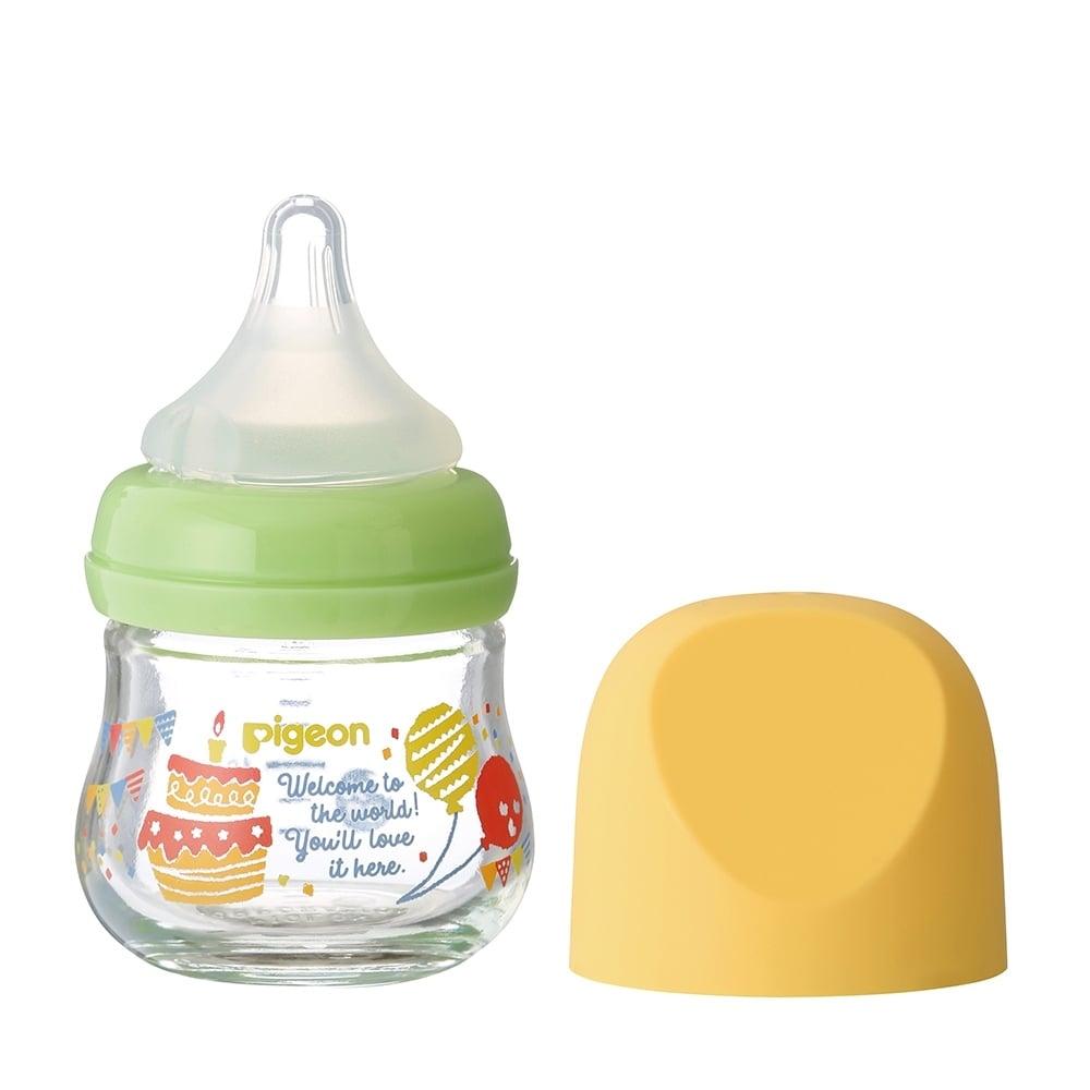 母乳実感 哺乳瓶 my Precious ガラス 80ml (パーティー)