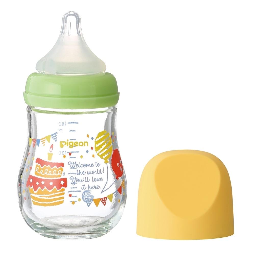 母乳実感 哺乳瓶 my Precious ガラス 160ml (パーティー)