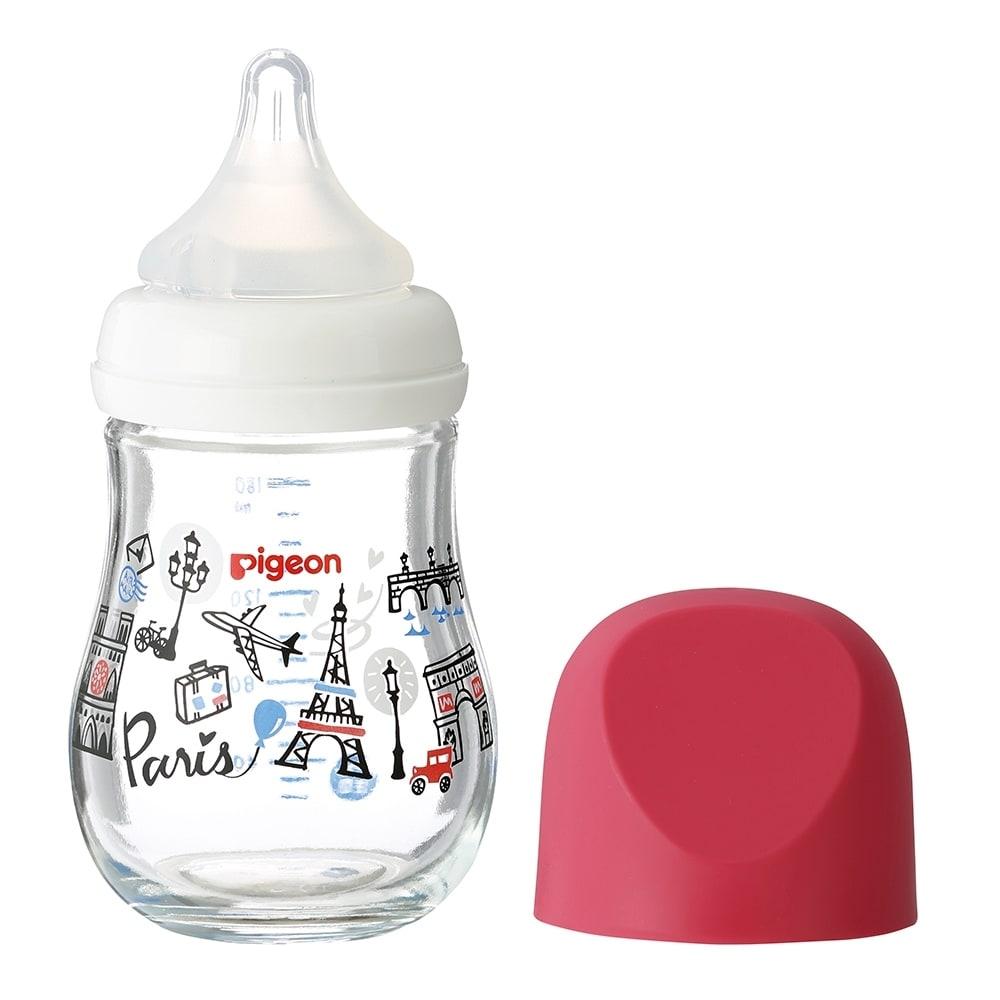 母乳実感 哺乳瓶 my Precious ガラス 160ml (パリ)