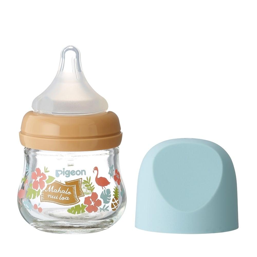 母乳実感 哺乳瓶 my Precious ガラス 80ml (ハワイ)