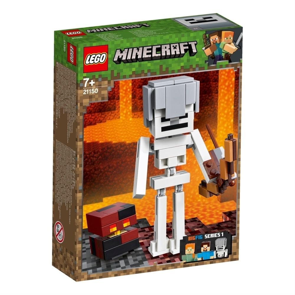 レゴ マインクラフト 21150 マインクラフト ビッグフィグ スケルトンとマグマキューブ【クリアランス】【送料無料】