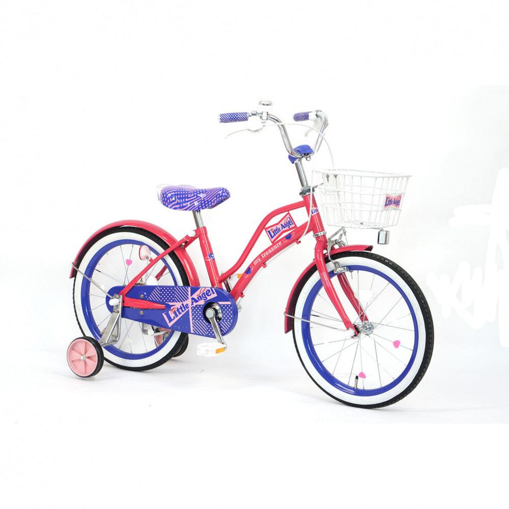 トイザらス・ベビーザらス オンラインストアトイザらス限定 18インチ 子供用自転車 Little Angel-19(パープル)