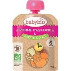 <トイザらス> 有機フルーツと野菜だけで作ったベビースムージー babebio(ベビービオ)アップル・スィートポテト 【6ヶ月~】