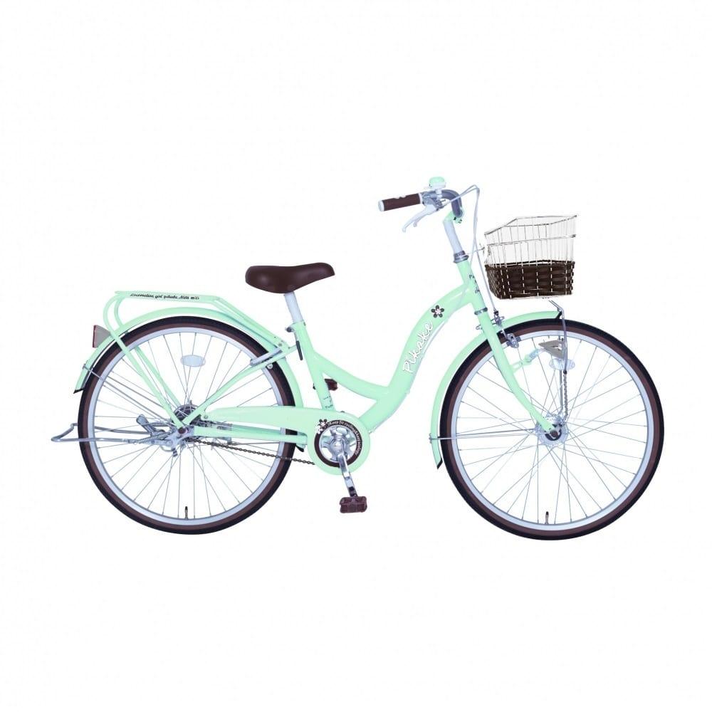 ピカケ 20インチ 子供用自転車 ミントグリーン