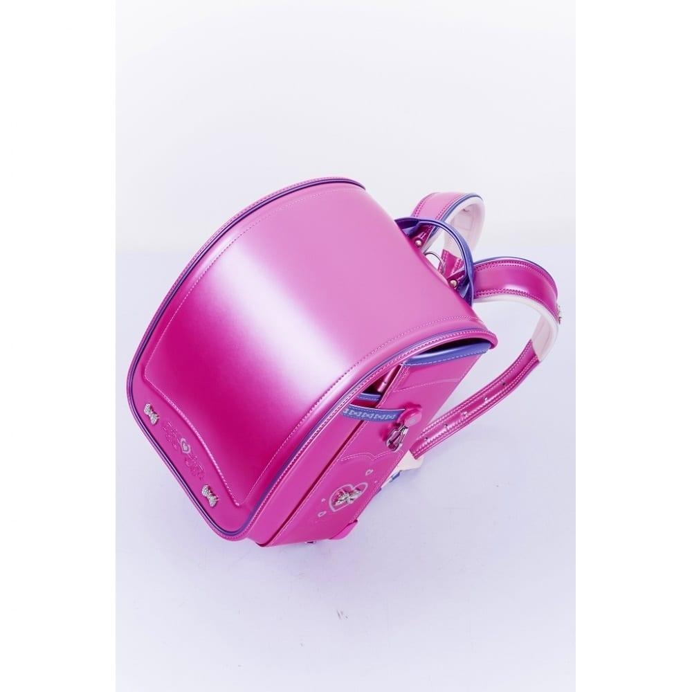 【ランドセル】ふわりぃプレミアム2コンパクト女児 パールピンク/パールパープル【オンライン限定】【送料無料】