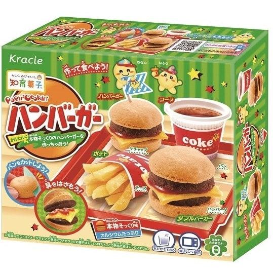 ポッピンクッキン ハンバーガー【お菓子】