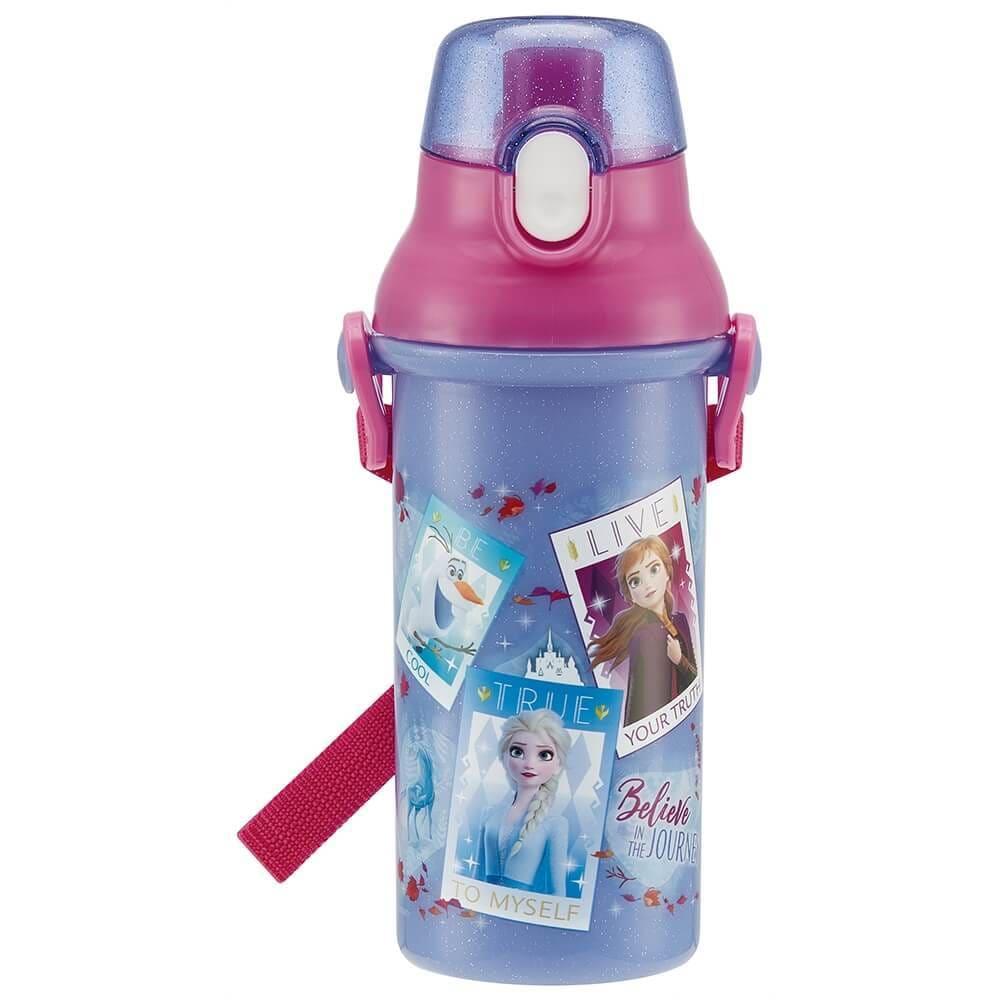 アナと雪の女王2 直飲みプラワンタッチボトル 480ml【クリアランス】
