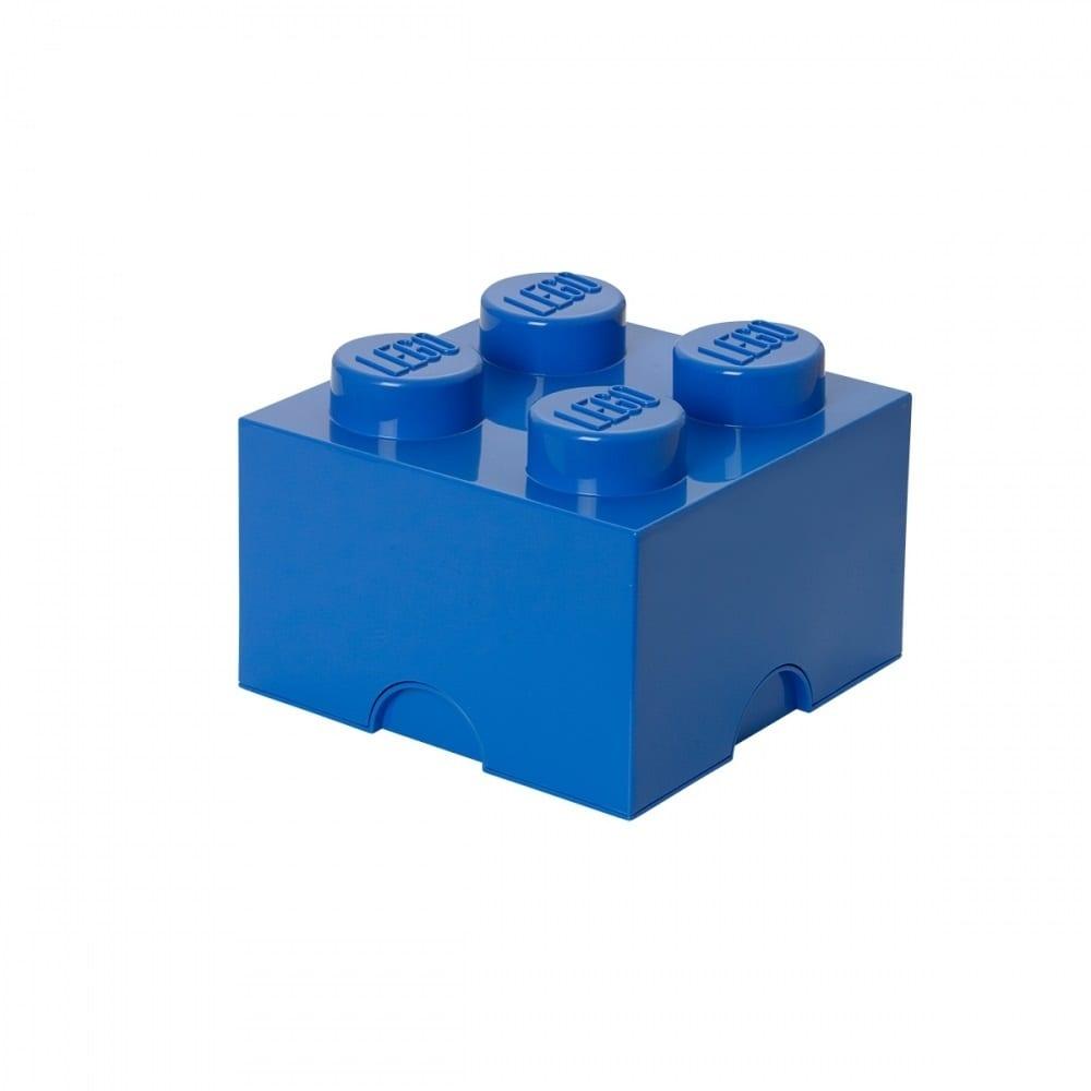 レゴ ストレージボックス ブリック 4 ブルー【オンライン限定】【送料無料】