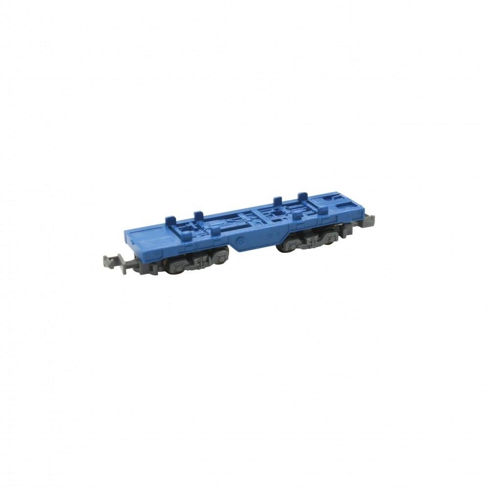 ロクハン Zショーティー コンテナ貨車(ブルー)【オンライン限定】