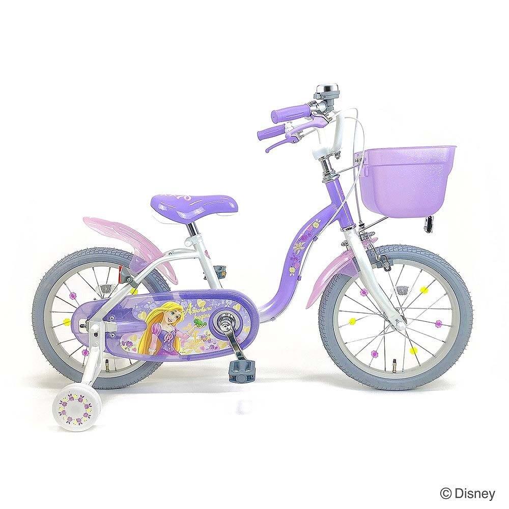 トイザらス・ベビーザらス オンラインストアトイザらス限定 ラプンツェル自転車16型