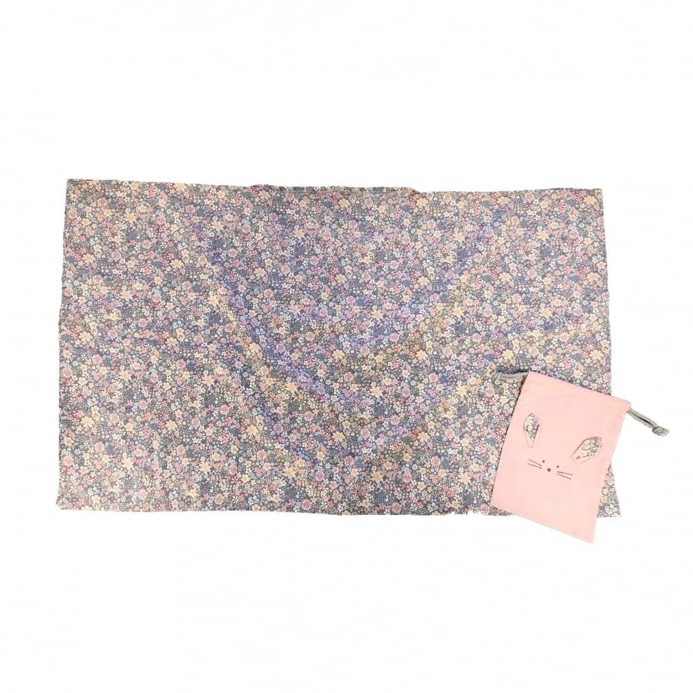 ベビーザらス限定 授乳ケープ 花柄 袋付き (ピンク)【送料無料】
