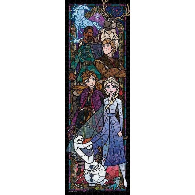 ディズニーステンド ぎゅっと456ピース ジグソーパズル アナと雪の女王2 ステンドグラス【クリアランス】