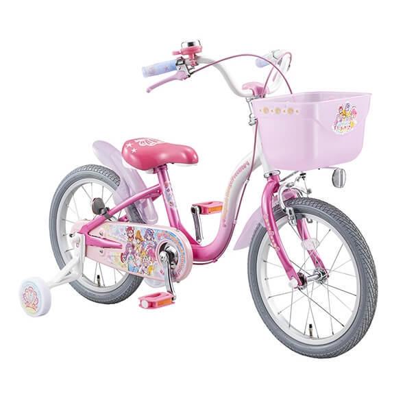 トイザらス限定 16インチ 子供用自転車 トロピカルージュプリキュア