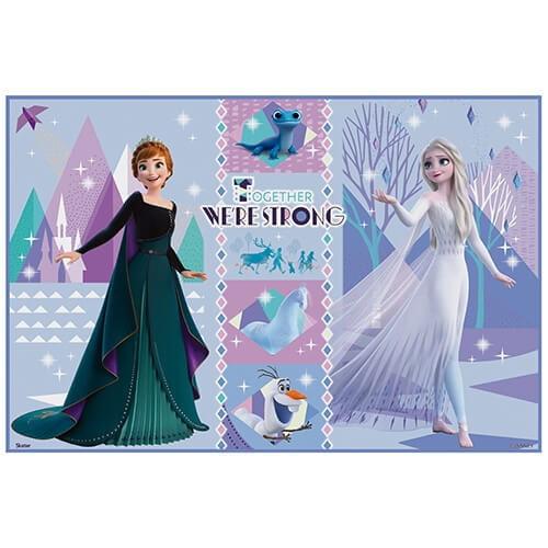 アナと雪の女王21 レジャーシートS