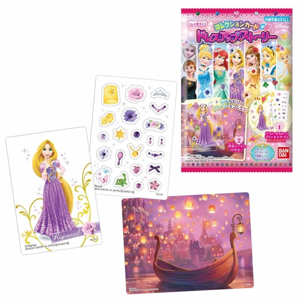ディズニー コレクションカード ドレスアップストーリー