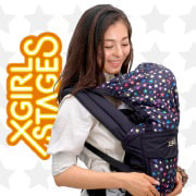 ベビーザらス限定 X-girl×Shoul Raku BABY CARRIER