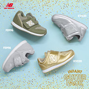 new balance INFANT GLITTER PACK