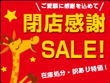 ★トイザらス 実店舗閉店感謝セール、クリアランス・アウトレットセール!