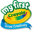 my first crayola ロゴ